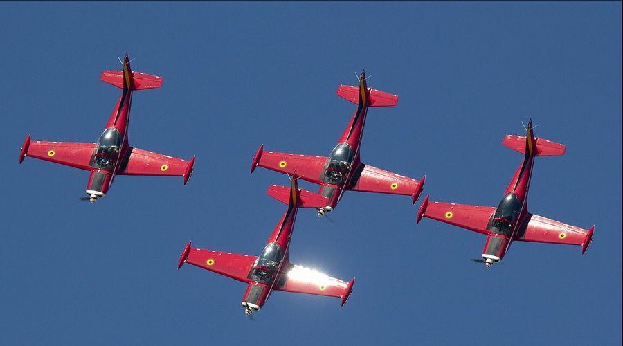 《飞空之舞》六:比利时红魔飞行表演队