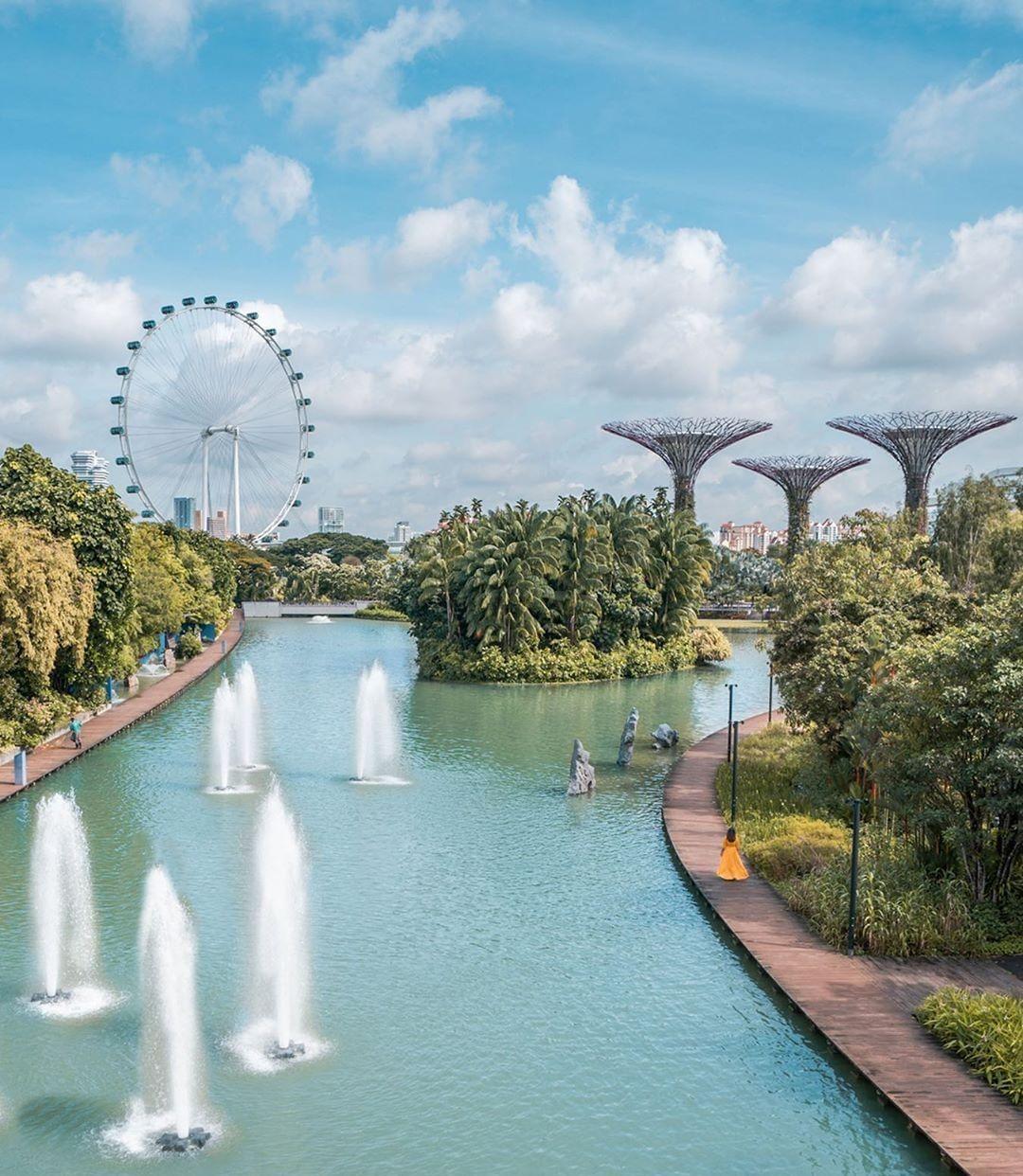 亲和新加坡:城市风光华丽动人,自然美景精致典雅