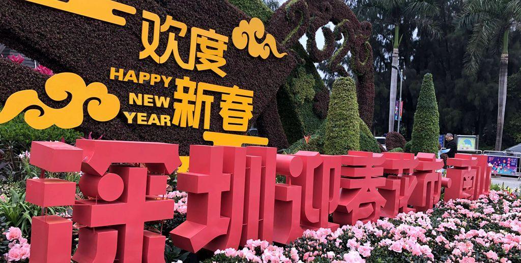 深圳南山迎春花市开市,还有新品种上市