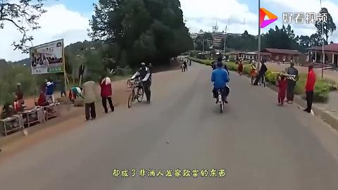 中国淘汰的自行车在非洲成了宝贝很多人靠它发家致富忒聪明