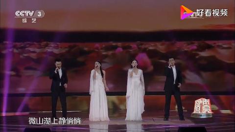 帅哥靓女组合歌唱经典作品用自己的方式歌唱配合的完美无瑕