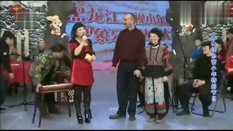 老公抚琴龚丽娜演唱这一对夫妻好恩爱