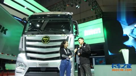 560马力康明斯+采埃孚AMT,国六欧曼EST-A超级卡车揭秘