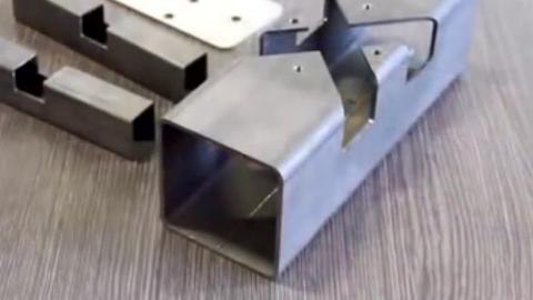 钢结构零件的创新铰接方式,连接更加牢靠!
