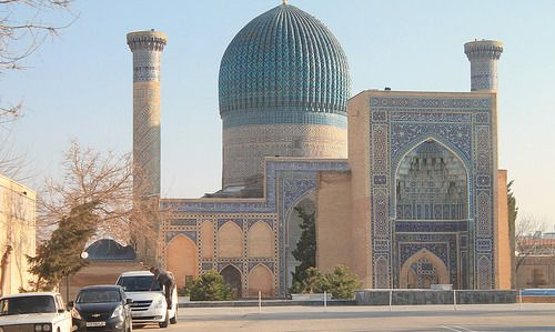 """乌兹别克斯坦塔什干是古""""丝绸之路"""""""