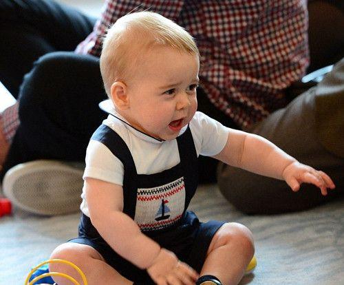 乔治小王子既高冷又可爱,这些哭泣的照片真是萌化大家的心