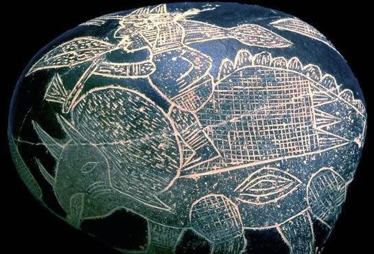 南美发现神秘石刻,记录了恐龙灭绝,甚至还描绘了人类星际远征!