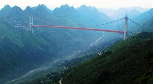世界十大最高桥梁,第一名在中国!