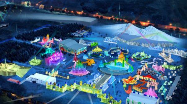 哈尔滨冰雪大世界——无愧于世界最大的冰雪主题游乐园的称谓!
