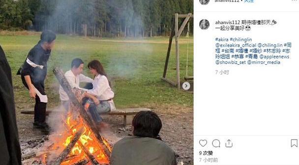 林志玲与老公拍婚纱照,为什么新郎不是言承旭?