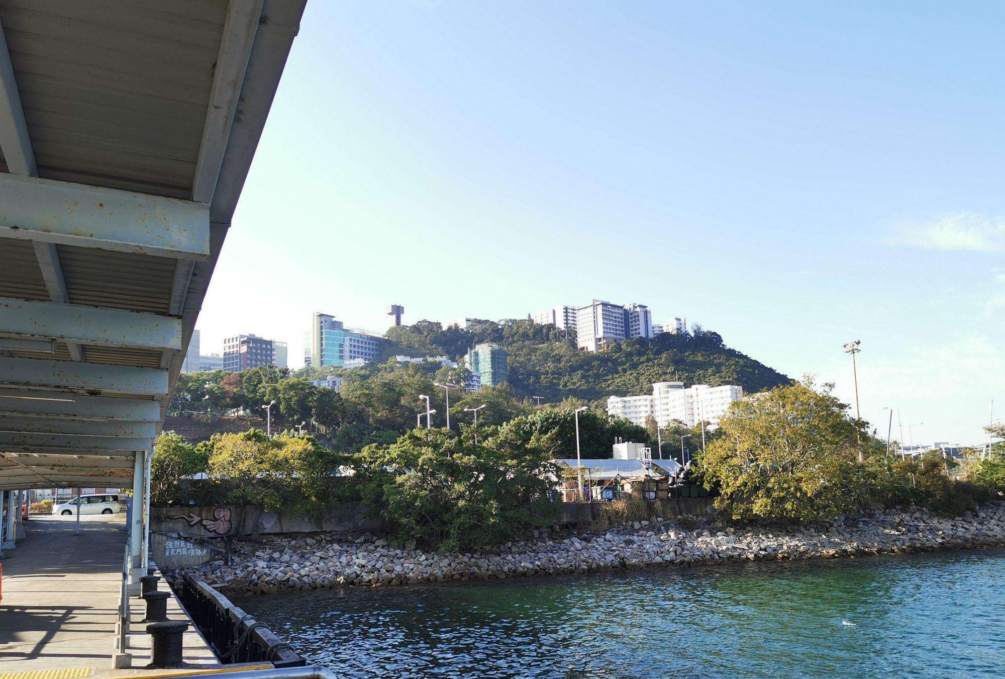 香港中文大学校园部分美景欣赏