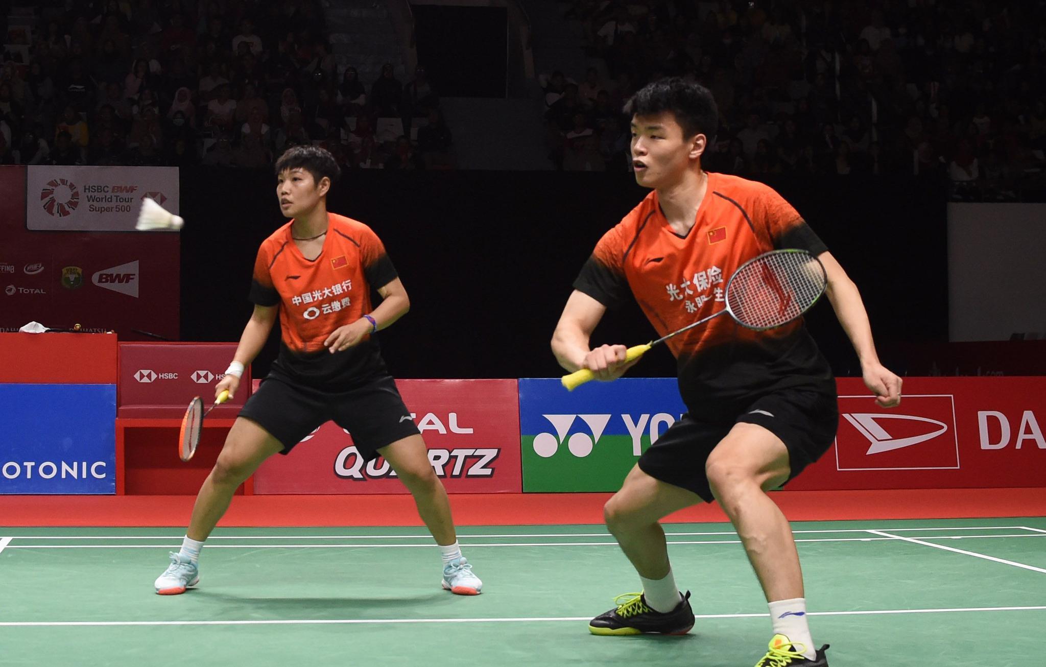羽毛球——印尼大师赛:王懿律/黄东萍晋级混双决赛