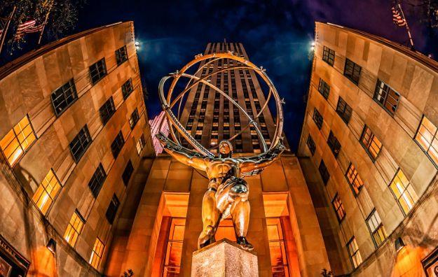 洛克菲勒中心——纽约的地标性建筑乃至美国财富的象征!