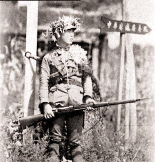 旧照重现热血卫国抗日英烈雄姿:义无反顾上战场,多少人一去不回