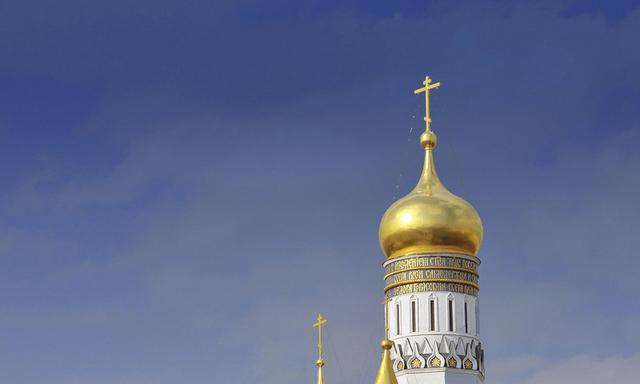 克里姆林宫教堂广场---俄罗斯游记(4)