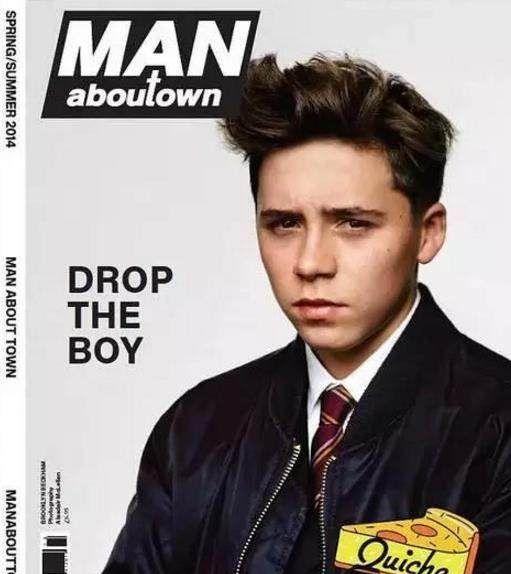 在万人迷父母培养下,18岁的布鲁克林贝克汉姆到底有多帅!