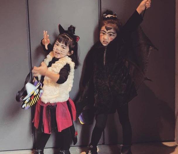 Bo妞万圣节吓人表情满分 修杰楷却曝:她还是想扮公主