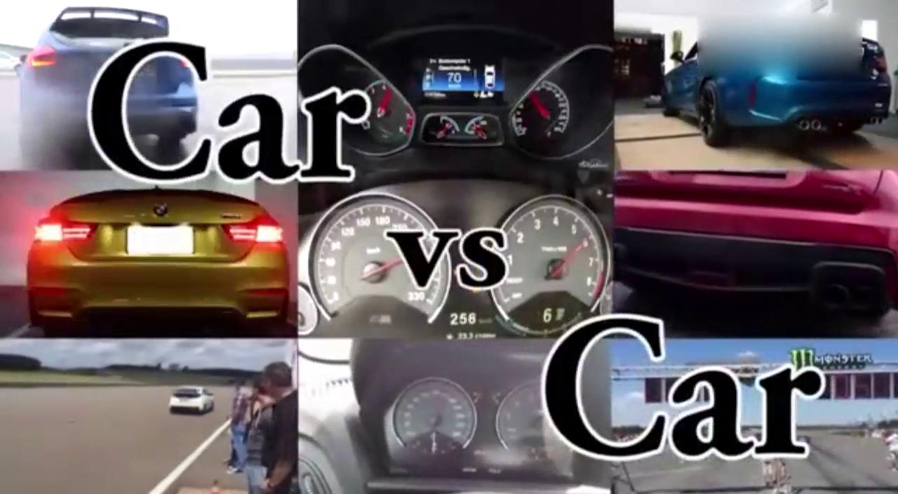 两款平民性能车加速比拼猜猜谁更快,三菱EVO对战福克斯RS