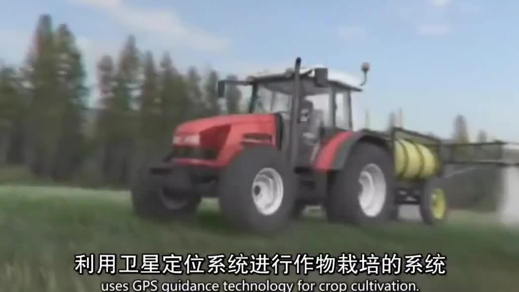 未来农业:卫星导航机械耕作,省人省力更省心
