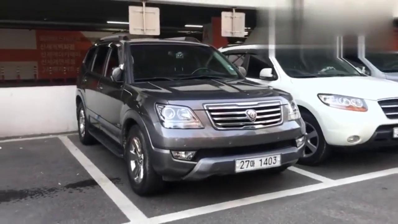 视频:韩国最硬派SUV,静态体验起亚霸锐