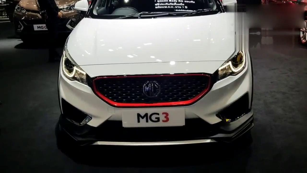 视频:飞度的克星来了,18款MG3到店,1