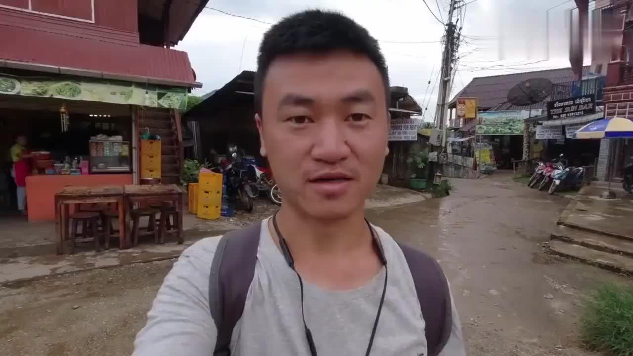 实拍亚洲最穷国家老挝这里号称老挝小桂林看完太失望了