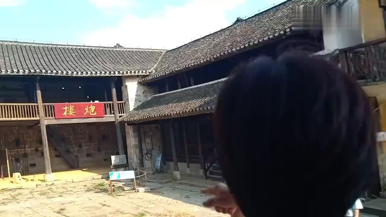 贵州兴义刘氏庄园里面有冷兵器时代的堡垒你们知道干嘛的吗