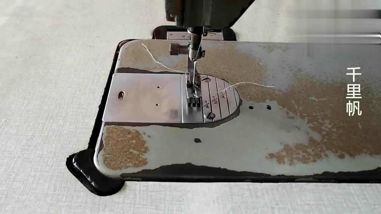 家用缝纫机平车缝制厚料总跳线老师傅教你简单解决办法