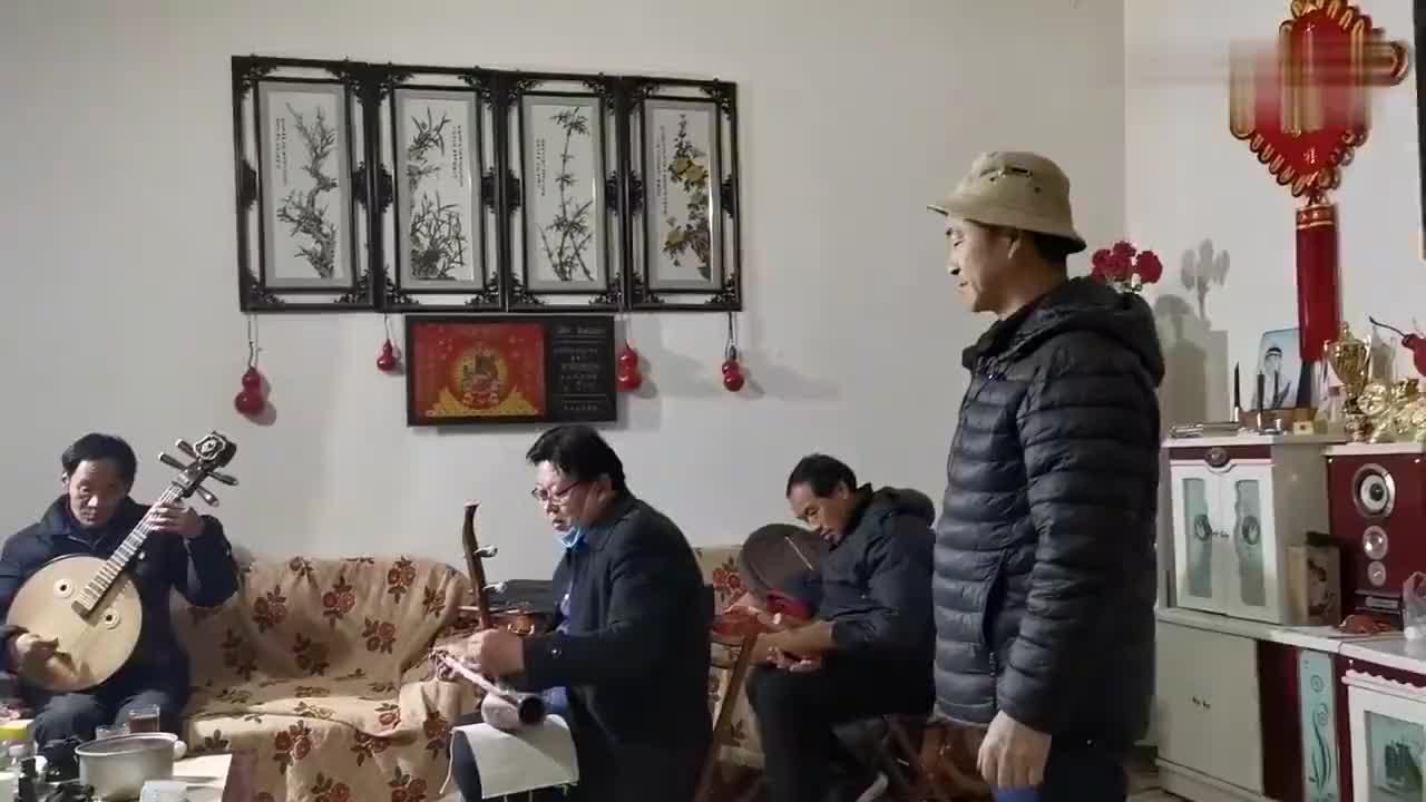 菏泽青年大平调王广兴乐队我们一起战疫加油