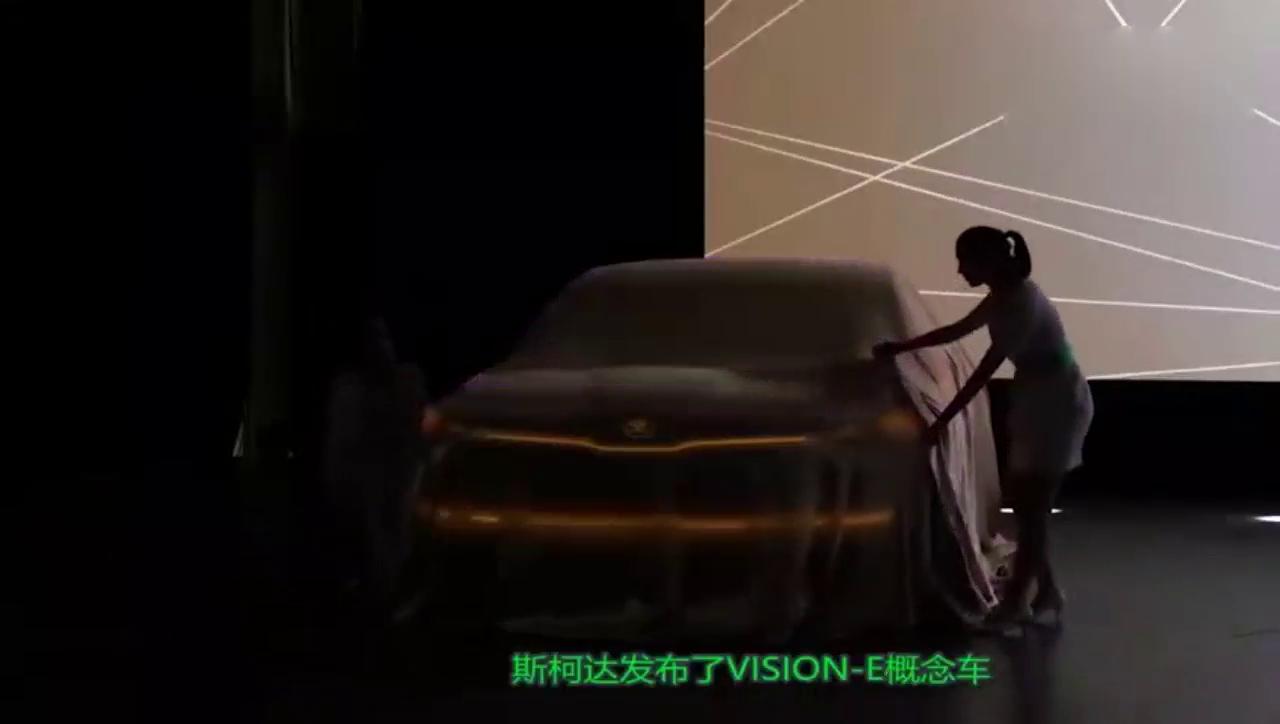 斯柯达全新电动SUV引关注,配备主副显示屏,续航超500公里