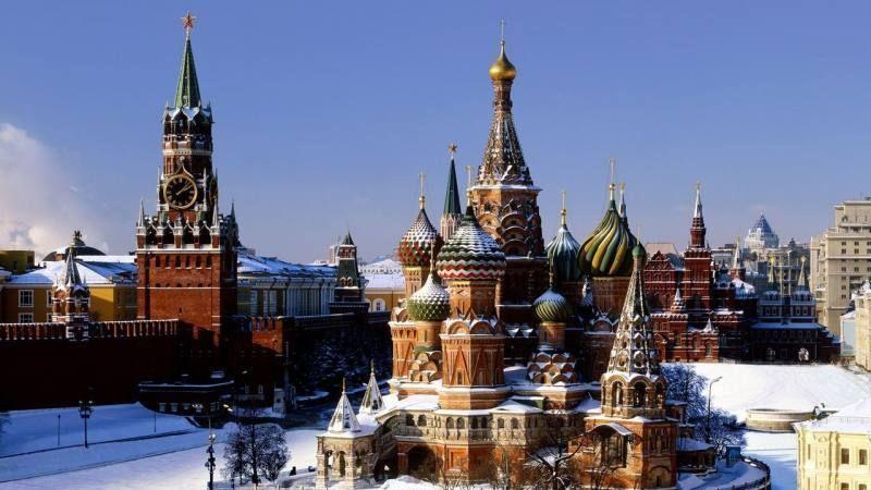 克里姆林宫,是莫斯科城最老资格的建筑