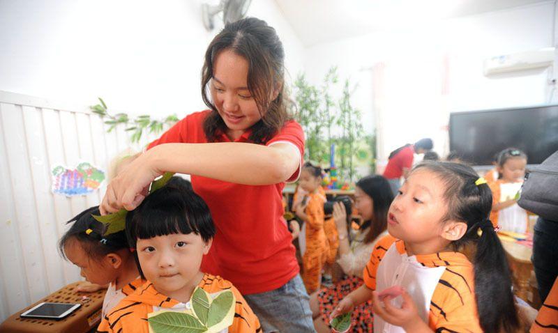 幼儿园趣味民俗游园会