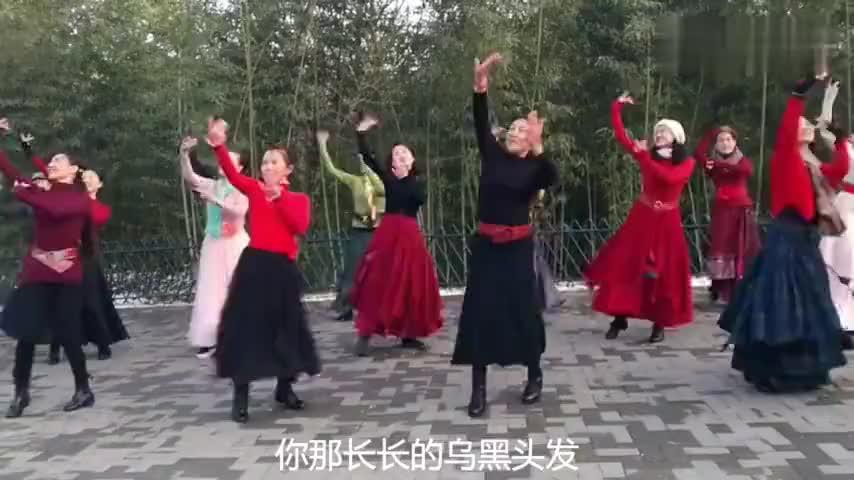北京紫竹院新疆舞曲不能没有你20191130带字幕特别好听好看