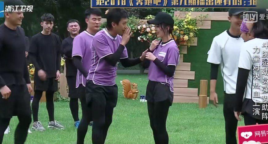 奔跑吧:相差30斤的娄艺潇和angelababy,颜值首次被女嘉宾碾压!
