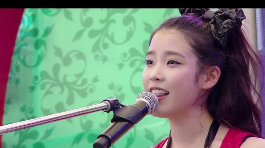 [IU]李知恩,干干净净唱歌的女生真的不多了!韩国清纯的代言词~