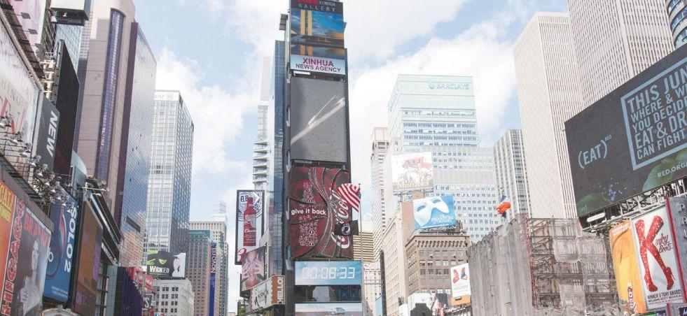 纽约时报广场——繁盛的娱乐及购物中心!