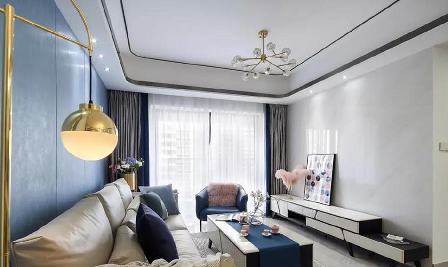 洛氏路全屋定制:家居装修新风潮——如诗如画般的现代轻奢风格