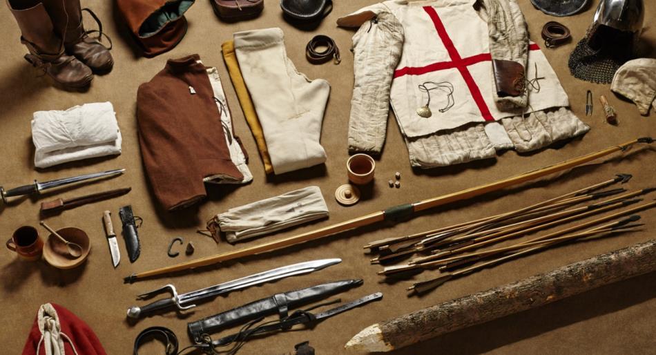 中世纪欧洲人作战凶猛,看到人家装备,才知道凶是有道理的