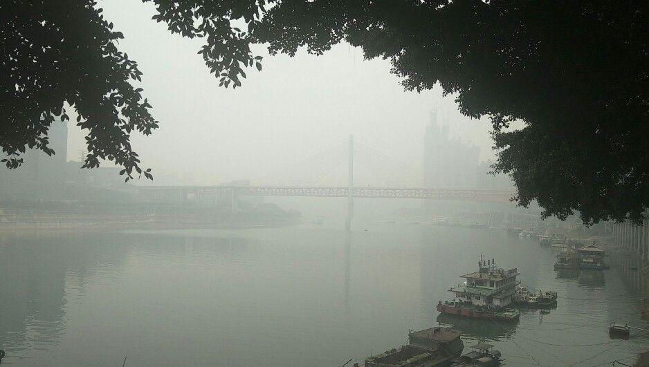 春节出行哪里去,墨秋日曰从汉中到雾都重庆嘉陵江上看风景