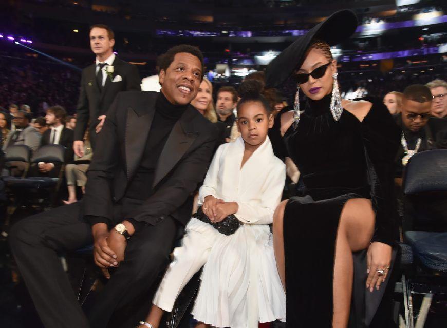 """女神碧昂斯和天王Jay-Z的女儿""""蓝厅长""""如今才是气场女王啊!"""