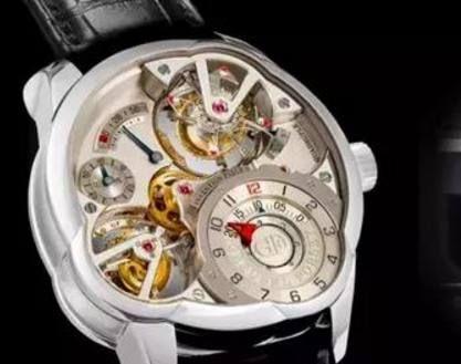 卖点都是芝麻链和陀飞轮,但朗格这款腕表却倍受收藏者偏爱