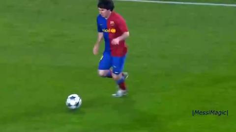 守门员面对梅西做出的逆天扑救,梅西射门漂亮门将守的也精彩