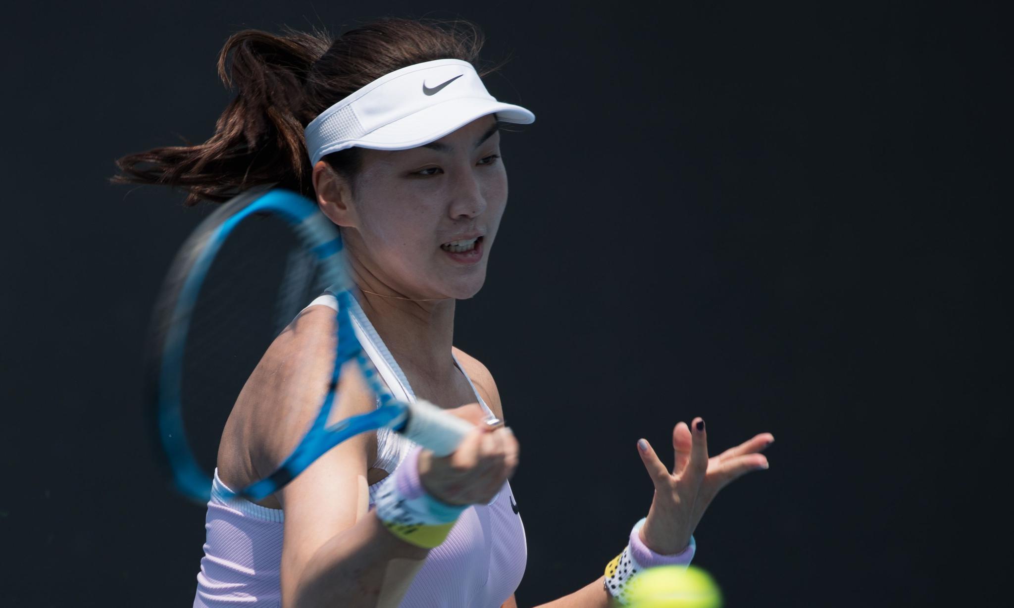 网球——澳网资格赛:王欣瑜遭淘汰