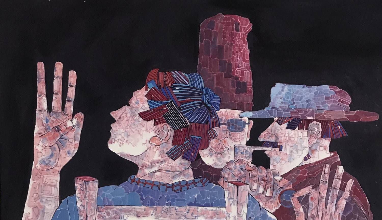 湖北美术学院研究生毕业生李贺的国画作品欣赏