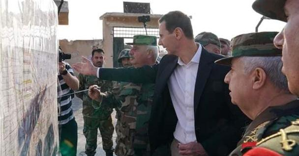 为防土耳其,叙利亚精锐部队进驻边境,火箭炮成战场主角