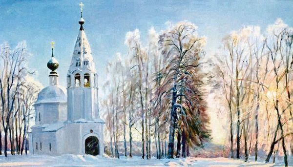 俄罗斯功勋艺术家奥列格·伊列格的油画风景欣赏,值得收藏起来