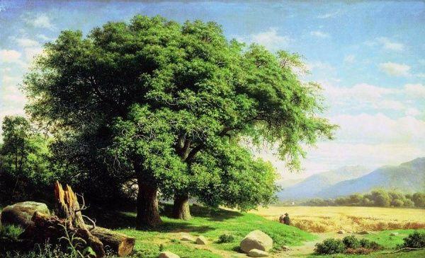 俄罗斯艺术家克洛特.尤尔根堡的风景油画佳作,真让人心旷神怡