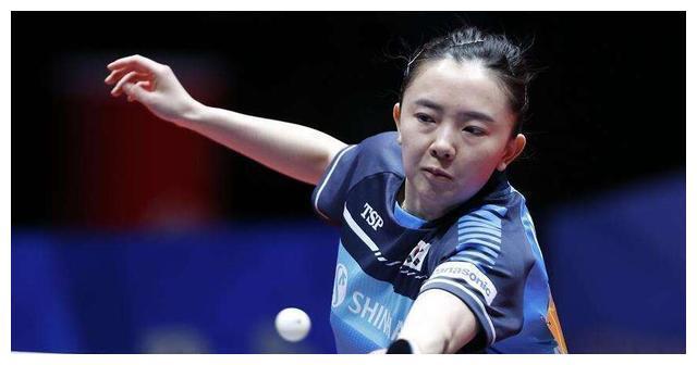 曾被称为乒坛绝世美女,身材高挑颜值爆表,却为梦想选择入韩籍!