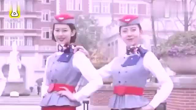 「四川西南航空职业学院」空姐空少freestyle院长助阵抖肩舞