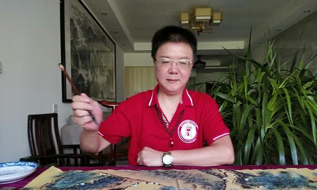 中国书画大家艺术品牌推广工程——著名书画家蒋文科